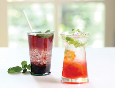 HOME-MADE SPARKLING DRINKS