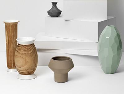 Modern vase deco item - Deco lounge oud en modern ...