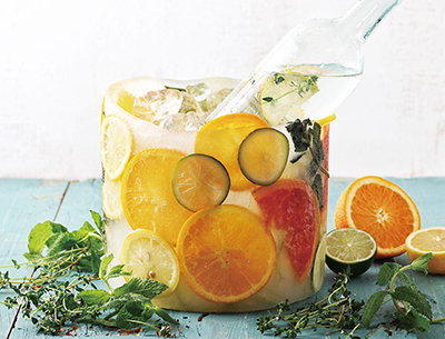 ICED CITRUS BUCKET  JIN TONIC