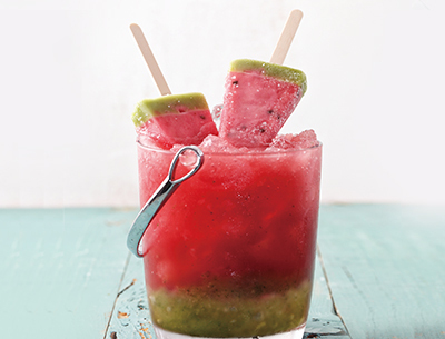 SUMMER SOJU COCKTAIL WATERMELON POPSICLE