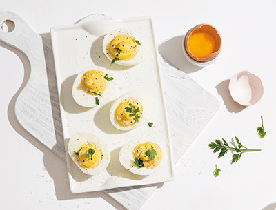 THE DELICIOUS EGG DISHES