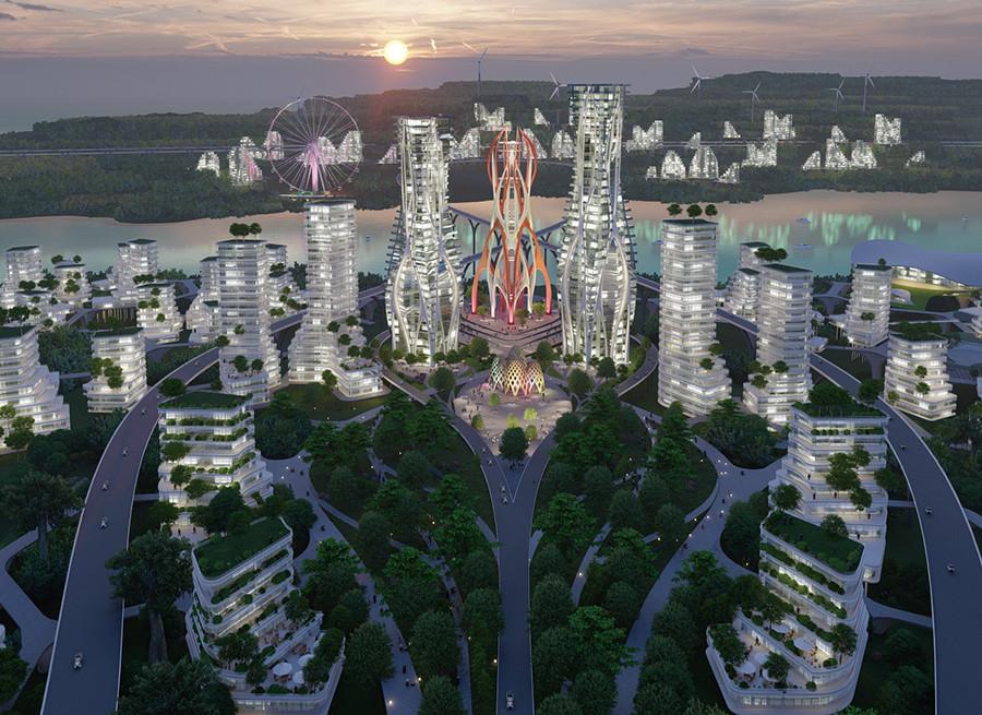 인도네시아 The Infinite City