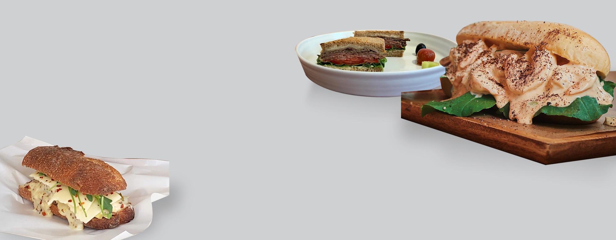 배부른 샌드위치