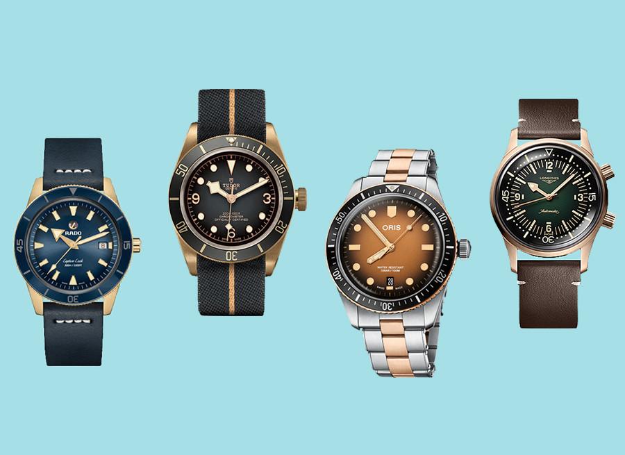 찰수록 변하는 '브론즈' 시계