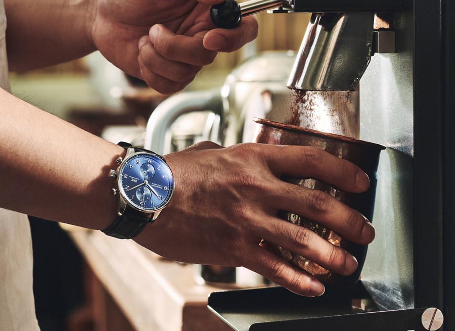 커피와 시계