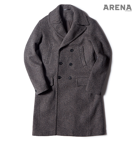 Allsaints Double Breasted Coat