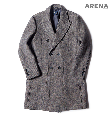 Beslow Double Breasted Coat