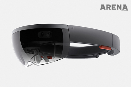 HoloLens Designed by Microsoft Device Design Team+ YeongKyu Yoo Art Direction _ YeongKyu Yoo/ Nicolas Denhaz