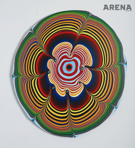 Holton Rower, 'Untitled', 2013, acrylic on wood panel, 100×90×2cm.
