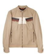 TOD'S 낙타색 가죽 바이커 재킷 6백2만원 토즈 제품.