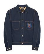 PAUL SMITH 포켓을 자수로 장식한 데님 재킷 65만원 폴 스미스 제품.