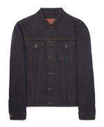 BRIONI 오렌지색 스티치의 데님 재킷 3백20만원 브리오니 제품.