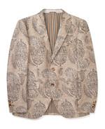 ETRO 페이즐리 패턴의 낙타색 재킷 1백78만원 에트로 제품.