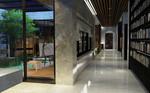 벽과 창의 수직적인 선은 주인공들의 거리감을 표현한다.